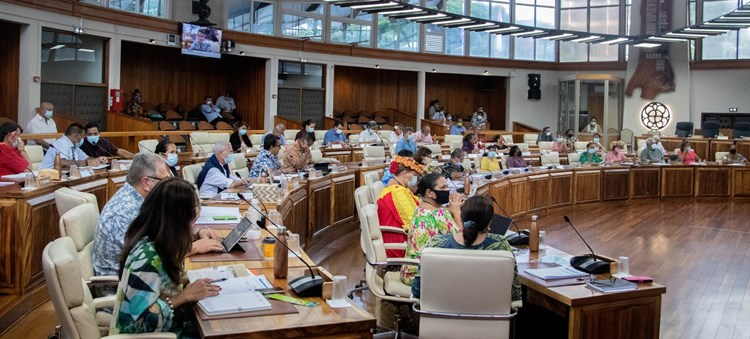 Une loi du pays et deux délibérations adoptées lors de la deuxième séance de la session extraordinaire