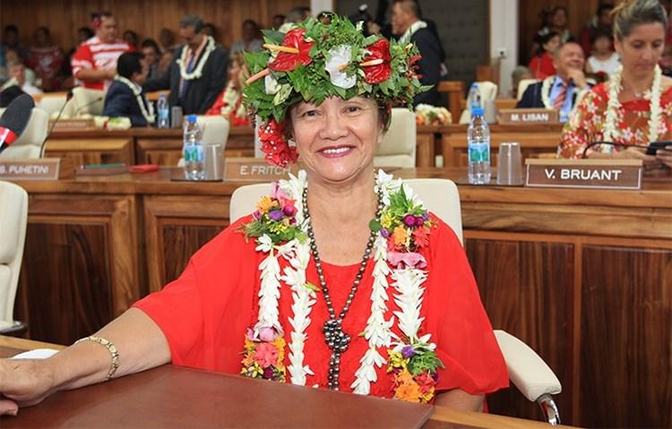 Condoléances du président de l'assemblée de la Polynésie française  suite au décès de Mme Tapeta TETOPATA