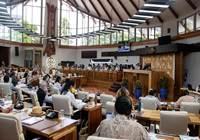 Cinq délibérations adoptées lors de la première séance de la session extraordinaire