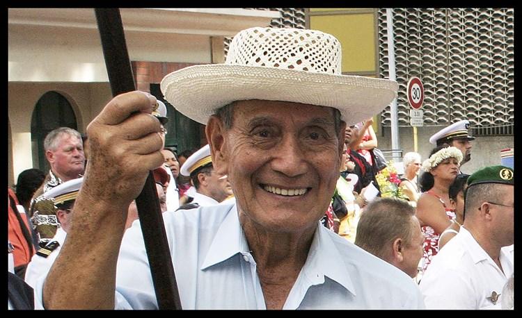 Condoléances du président de l'assemblée de la Polynésie française,  suite au décès de M. Maxime AUBRY