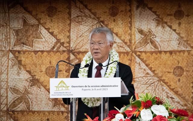 La session administrative de l'assemblée de la Polynésie française est ouverte