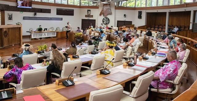 Quatre textes adoptés lors de la deuxième séance de la session administrative