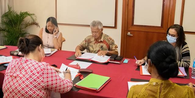 L'ordre du jour de la troisième séance de la session administrative validé en conférence des présidents