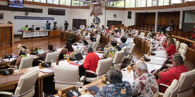 Six textes adoptés lors de la troisième séance de la session administrative