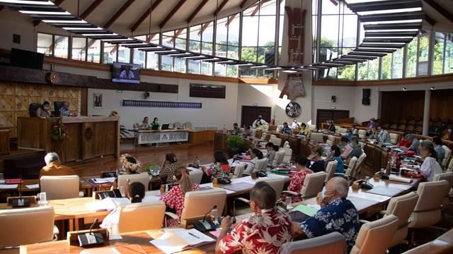 Seize textes adoptés durant la cinquième séance de la session administrative
