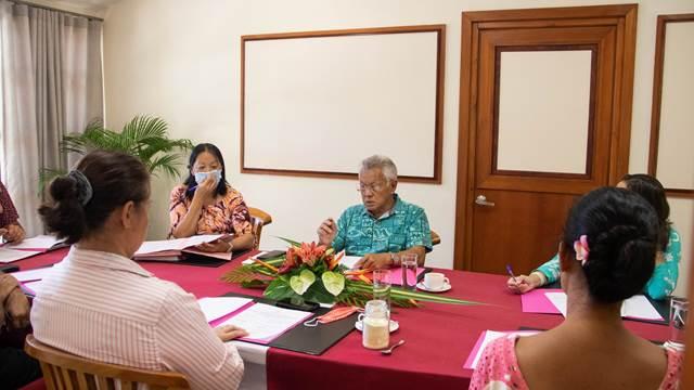L'ordre du jour de la sixième séance de la session administrative validé en conférence des présidents
