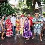 Quatorze jeunes de la ville de Mahina ont visité l'assemblée