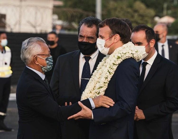 Arrivée en Polynésie française du Président de la République