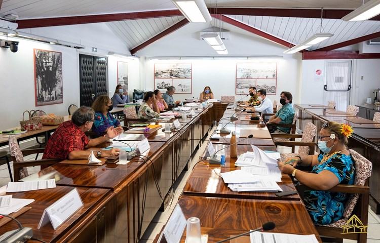 Trente-cinq projets d'arrêté étudiés en commission de contrôle budgétaire et financier de l'assemblée de la Polynésie française
