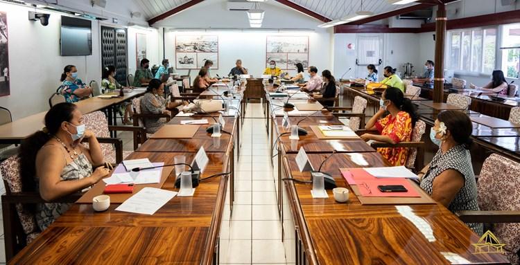Réunion de la commission chargée de la préparation du budget de l'assemblée