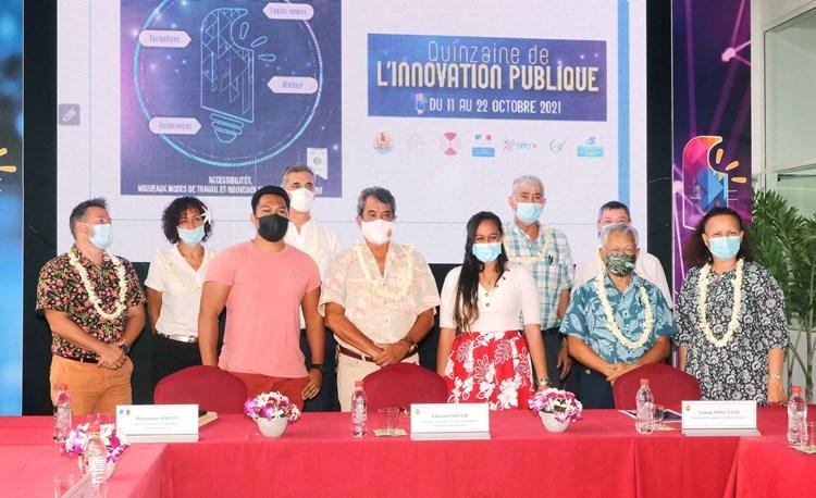 Signature d'une convention-cadre avec 7 entités publiques dans le cadre de l'ouverture de la quinzaine de l'innovation publique